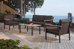 Sunjoy Vail Deep Seating Set