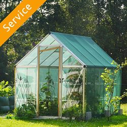 Greenhouse Assembly – Plastic Covering