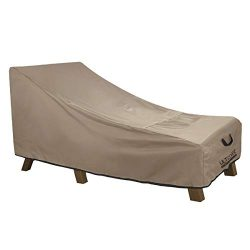 ULTCOVER Waterproof Patio Lounge Chair Cover Heavy Duty Outdoor Chaise Lounge Covers – 76L ...