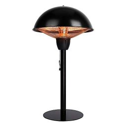 Star Patio Electric Patio Heater, Tabletop Heater, Infrared Heaters, Electric Outdoor Heater, Ou ...