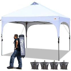 ABCCANOPY Canopy Tent 10×10 Pop Up Canopy Outdoor Canopies Portable Tent Popup Beach Canopy ...