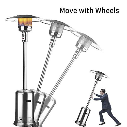 Klismos Patio Heater Propane Gas Portable Commercial