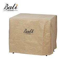 BALI OUTDOORS 28 Inch Square Patio Fire Pit Table Cover, Heavy Duty, Waterproof and Weather Resi ...