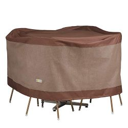 Duck Covers Ultimate Round Table & Chair Set Cover 56″ Diameter