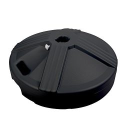 US Weight Fillable Umbrella Base, Black