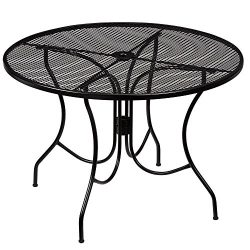 HB-101 Hampton Bay 42 In. Wrought Iron Nantucket Round Table