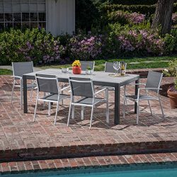 Hanover TUCSDN7PC-WHT, Gray Outdoor Furniture