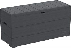 Duramax 86600 Resin Outdoor Storage Deck Box, Gray