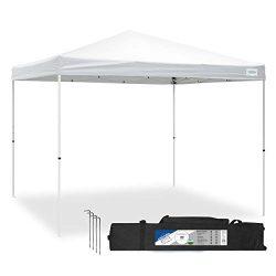Caravan Canopy Sports 21007900010 10×10 V-Series 2 Pro Kit White Canopy, 10'x10′ ...