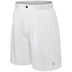 Fila Men's Fundamental Pergola Shorts, White, XL