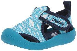 OshKosh B'Gosh Boys Aquatic Girl's Water Shoe, Light Blue, 10 M US Toddler