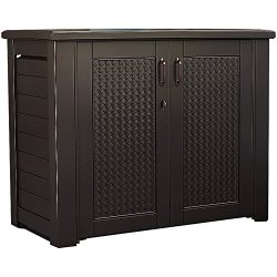 Rubbermaid Outdoor Storage Patio Series Cabinet (1889849)