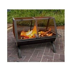Outdoor Fireplace Fire Pit Wood Burning Chiminea Portable Heater Patio Yard Home Best Selling Item