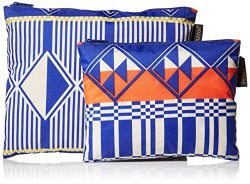 Pendleton Women's 2 Pack Zip Pouch, Southern Highlands Multi, One Size