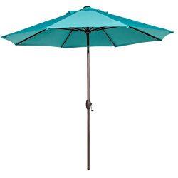 Abba Patio 11-Feet Patio Umbrella Outdoor Table Market Umbrella with Push Button Tilt and Crank, ...
