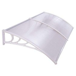 UV Protection Overhead Clear Outdoor Patio Awnings, Window Awnings – GC Global Direct (6.5 ...