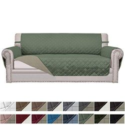 Easy-Going Sofa Slipcover Reversible Sofa Cover Furniture Protector Couch Cover Elastic Straps P ...