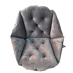 Bobor Warm Comfort Chair Cushion, for Supporting The Lumbar Backrest Large Size Seat Cushion, Mu ...