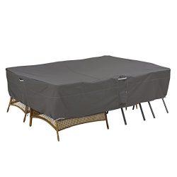 Classic Accessories Ravenna 100″ x 70″ Sectional Sofa/General Purpose Patio Furnitur ...