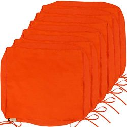 Outdoor Cushion Covers, 6-Pack Deep Seat Patio Cushion Cover, Heavy Duty Outdoor Furniture Lawn  ...