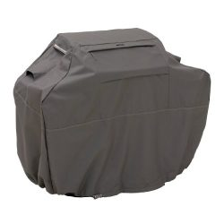 Classic Accessories Ravenna Grill Cover, Medium, Taupe, 58 inch
