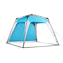 Mobihome Beach Canopy Sun Shelters Shade Tent Pop Up 8.2′ X 8.2′ – Instant Por ...