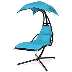 Hammock Chair Stand Outdoor Patio Furniture, Outdoor Swings, Patio Lounge Chair Outdoor Hanging  ...