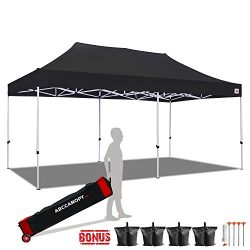 ABCCANOPY 10×20 Canopy Tent Pop up Canopy Outdoor Canopy Commercial Instant Shelter with Wh ...