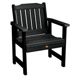 Highwood AD-CHGL1-BKE Lehigh Garden Chair, Black
