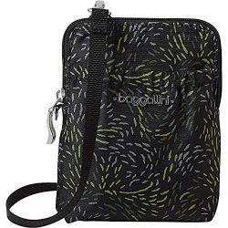 Baggallini RFID Bryant Pouch, Jungle Canopy