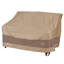 Duck Covers Elegant Patio Loveseat Cover, 62-Inch