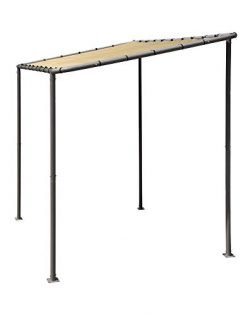 ShelterLogic 10′ x 6′ Solano Gazebo Canopy Charcoal Carbon Steel Frame Water-Resista ...