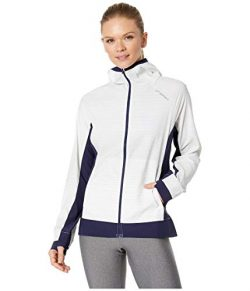 Brooks Canopy Jacket White Haze/Navy MD (Women's 8-10)