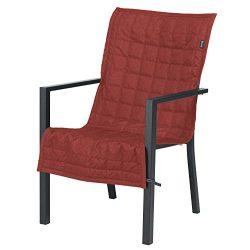 Classic Accessories Montlake FadeSafe Patio Chair Slip Cover, 45″ x 20″, Heather Henna