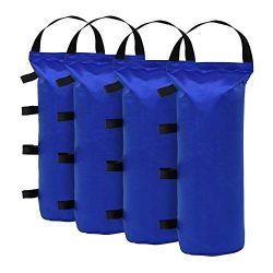 Eurmax 112 LBS Extra Large Pop up Canopy Weights Sand Bags for Ez Pop up Canopy Tent Outdoor Ins ...