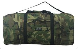 Heavy Duty Cargo Duffel Large Sport Gear Drum Set Equipment Hardware Travel Bag Rooftop Rack Bag ...