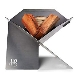 Hillenbrand & Co Fire pit Outdoor in Thick Weathering Steel Made in Australia. A Striking an ...