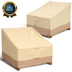 Leafbay Outdoor Chair Patio Furniture Covers -Heavy Duty & Waterproof Lounge Deep Seat Cover ...
