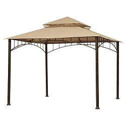 ABCCANOPY Gazebo Replacement Canopy roof for Target Madaga Gazebo (Beige)