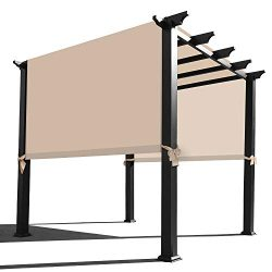 Alion Home Waterproof Pergola Covers – Pergola Replacement Canopy – Universal Replac ...