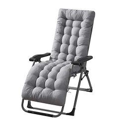 Patio Chaise Lounge Cushions Sun Lounger Cushions Pad 67213in Lounge Chair Cushion Portable Gard ...