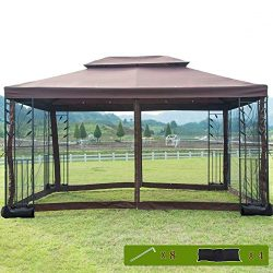 FDW Canopy Tent Grill Gazebo for Patio Outdoor Canopy Patio Canopy Outdoor Gazebo Patio Gazebo G ...